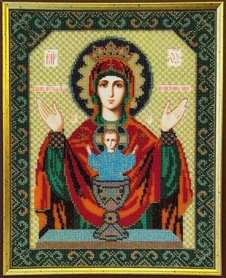 Икона Божией Матери «Неупиваемая чаша» - фото 4488