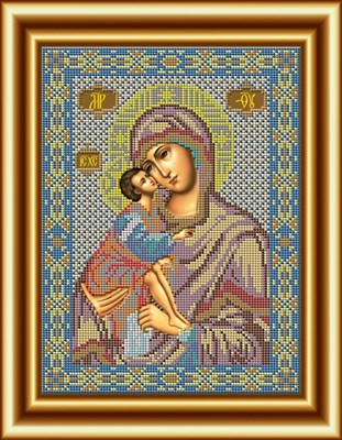 Икона Божией Матери «Донская» - фото 4491