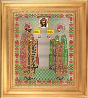 Икона ростовая «Святые Петр и Феврония Муромские» - фото 4510