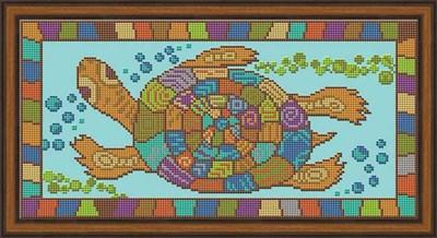 Набор для вышивания бисером «Черепаха» - фото 4620