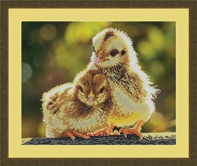 Набор для вышивания бисером «Цыплята» - фото 4623