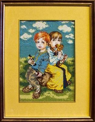 Набор для вышивания бисером «Дети» - фото 4627