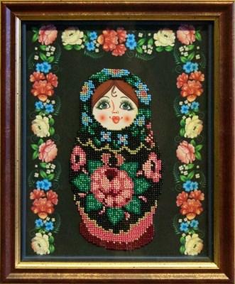 Набор для вышивания бисером матрёшка «Жостово» - фото 4631