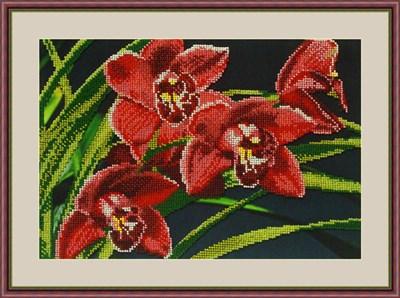 Набор для вышивания бисером «Орхидеи» - фото 4636