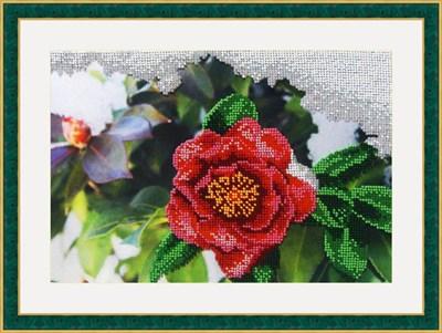 Набор для вышивания бисером «Японская роза» - фото 4640