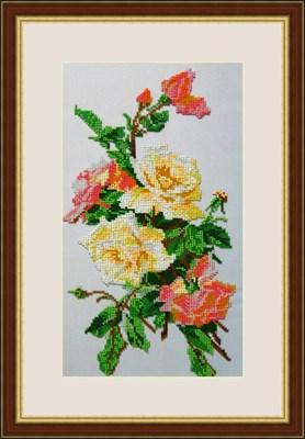 Набор для вышивания бисером «Розовая акварель» - фото 4650