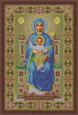 Икона «Богородица на престоле» - фото 4662