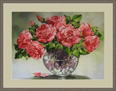Набор для вышивания бисером «Розовый шарм» - фото 4664