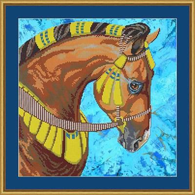 Набор для вышивания бисером «Лошадь» - фото 4676