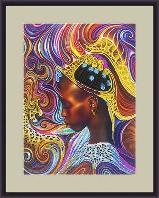 Набор для вышивания бисером «Африканка» - фото 4677