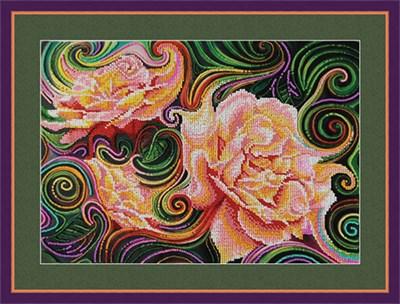 Набор для вышивания бисером «Розовая фантазия» - фото 4678