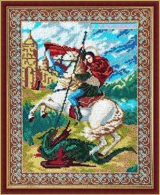 Икона «Святой Георгий Победоносец» - фото 4727