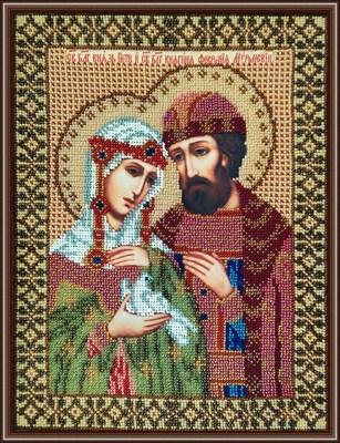 Икона «Св. Петр и Феврония Муромские» - фото 4728