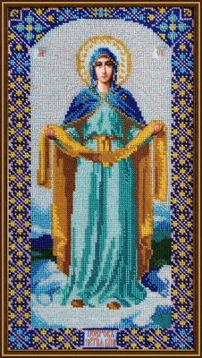 Икона «Покров Божией Матери» - фото 4734