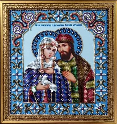 Икона «Святые Петр и Феврония Муромские» - фото 4813
