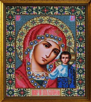 Набор для вышивания бисером икона Божией Матери «Казанская» - фото 4866
