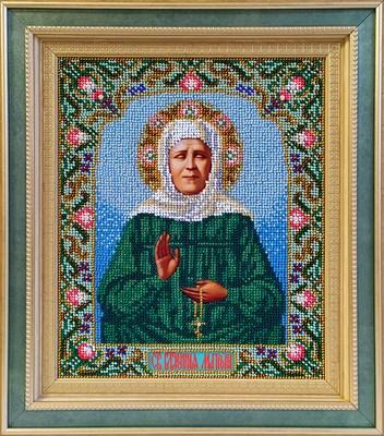 Набор для вышивания бисером икона «Матрона Московская» - фото 4872