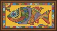 Набор для вышивания бисером «Рыба»