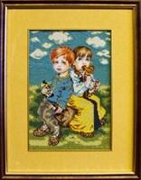 Набор для вышивания бисером «Дети»