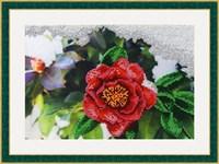 Набор для вышивания бисером «Японская роза»