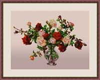 Набор для вышивания бисером «Букет роз»