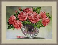 Набор для вышивания бисером «Розовый шарм»
