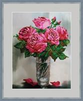 Набор для вышивания бисером «Розовый аромат»