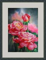 Набор для вышивания бисером «Нежные розы»