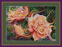 Набор для вышивания бисером «Розовая фантазия»