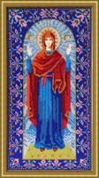 """Набор для вышивания бисером Икона Божией Матери """"Нерушимая стена"""""""