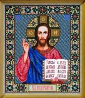 Набор для вышивания бисером икона «Господь Вседержитель»