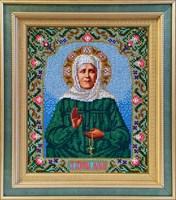 Набор для вышивания бисером икона «Матрона Московская»