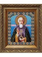 Набор для вышивания бисером икона «Сергий Радонежский»